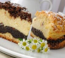 Ciasto na święta: przepis na makowiec serowy
