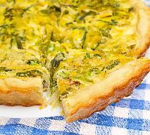 Aromatyczna tarta ziołowa - na obiad lub ciepłą kolację