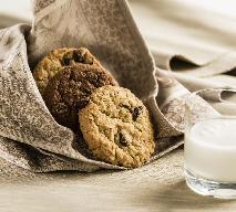 Ciasteczka pełnoziarniste z płatkami owsianymi [przepis]