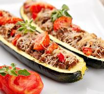 Cukinia faszerowama mięsem i warzywami