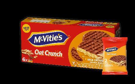 Owsiane ciastka Oat Crunch od McVitie's