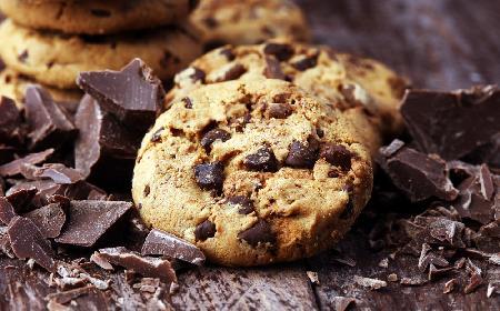 Przepis na chrupiące ciasteczka - american chip cookies + WIDEO