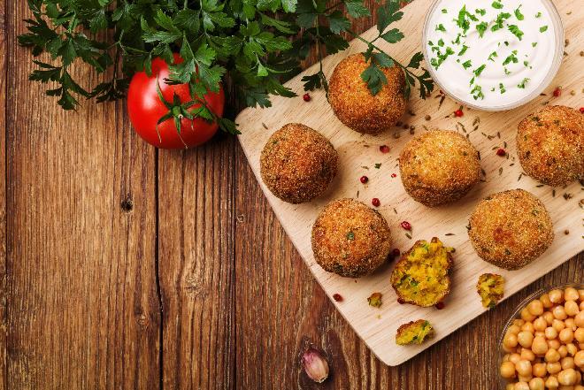 Falafel: wegetariańskie danie arabskie
