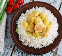 Fantastyczny ryż z kurczakiem na słodko - znakomite dania z resztek pieczonego kurczaka