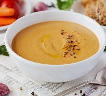 Zupa bakłażanowa - jedwabisty krem z pieczonych warzyw