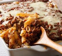 Makaron zapiekany z mielonym mięsem: przepis na szybki i tani obiad premium