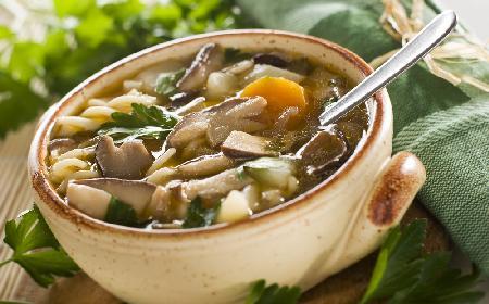 Zupa grzybowa oszukana: przepis