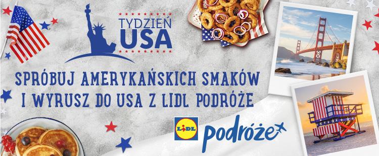 Tydzień USA, czy podróż do USA? Konkurs LIDL Polska